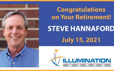 Spotlight: Congratulations to Steve Hannaford on His Retirement